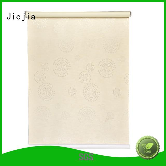 Jiejia electric blackout window shades durable house