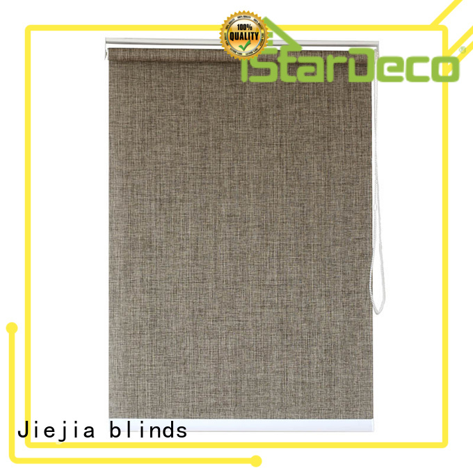 Jiejia privacy roller blind company restaurant