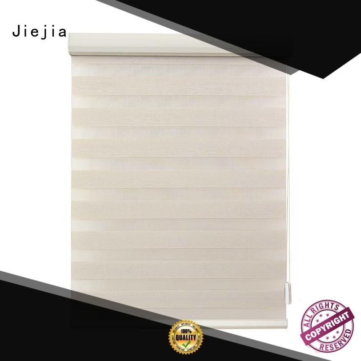 Jiejia oem zebra shade blinds waterproof house