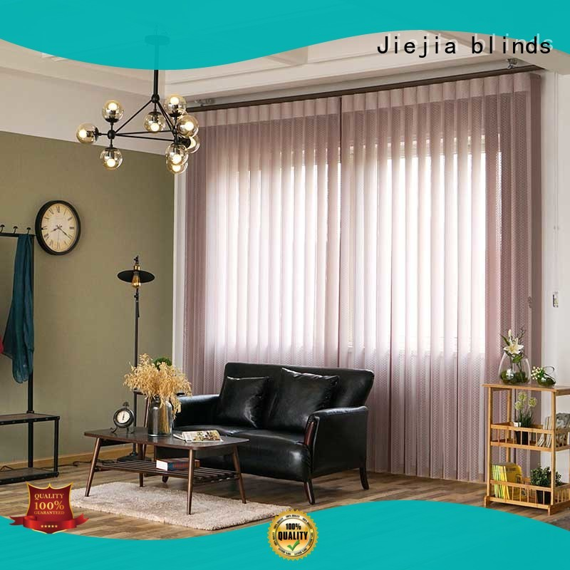 Jiejia High-quality vertical blinds 120 inches wide Supply