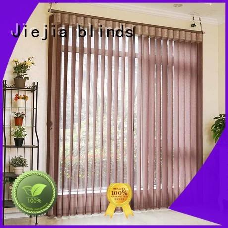 Jiejia vertical shutters