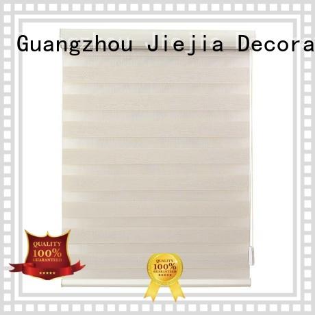 Jiejia odm zebra window blinds anti-uv house
