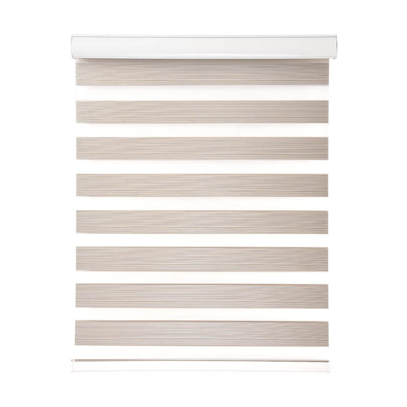 Jiejia double-layer blackout zebra blinds flameproof restaurant