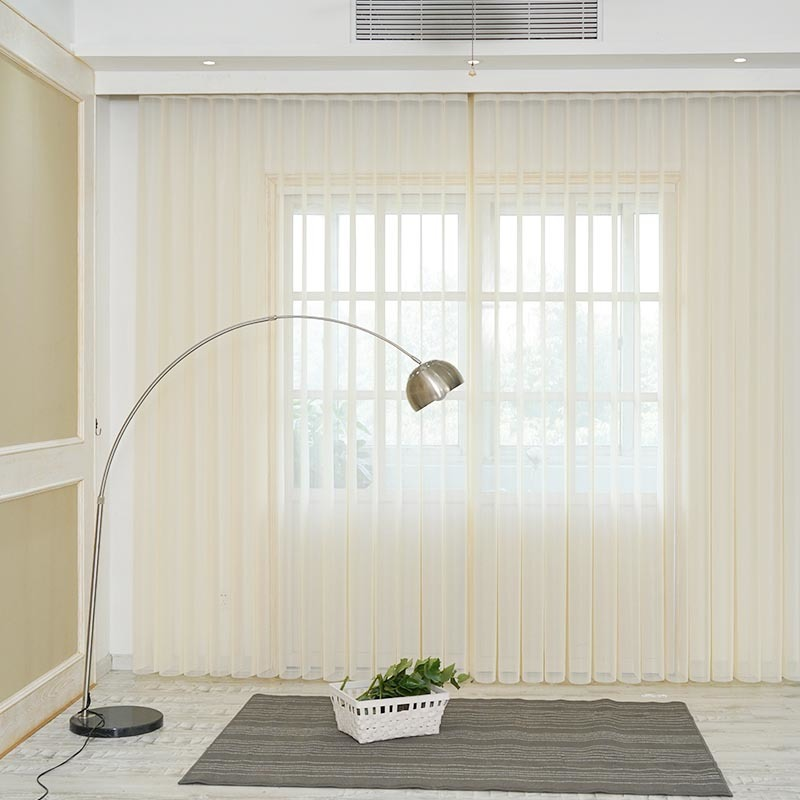 Wholesale Home Decor Soft Fabric Vertical Shades