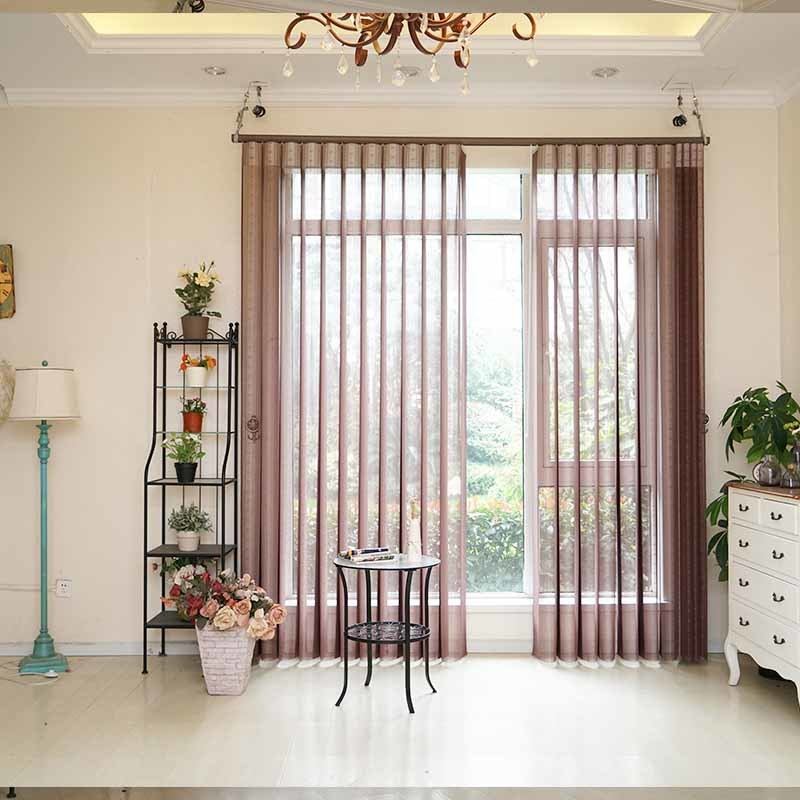 Custom Color Sunshade Kitchen Vertical Blinds