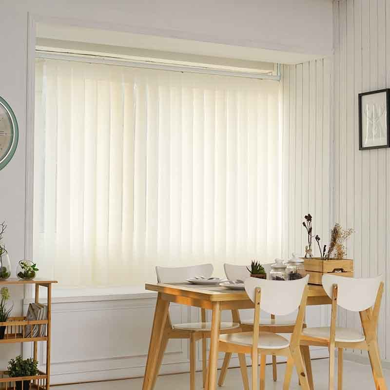Modern Custom Motorized Polyester Complete Vertical Blinds