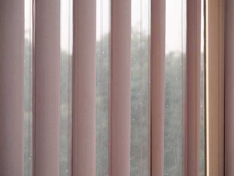 Wholesale Window Treatment Standard Vertical Blinds For Bedroom-5