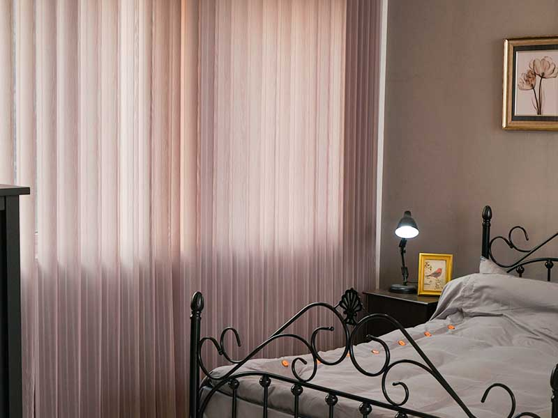 Wholesale Window Treatment Standard Vertical Blinds For Bedroom-7