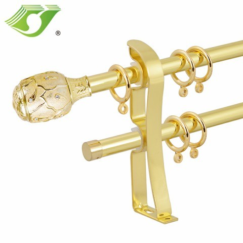 Wholesale Home Resin Curtain Rod Bracket Plastic Set