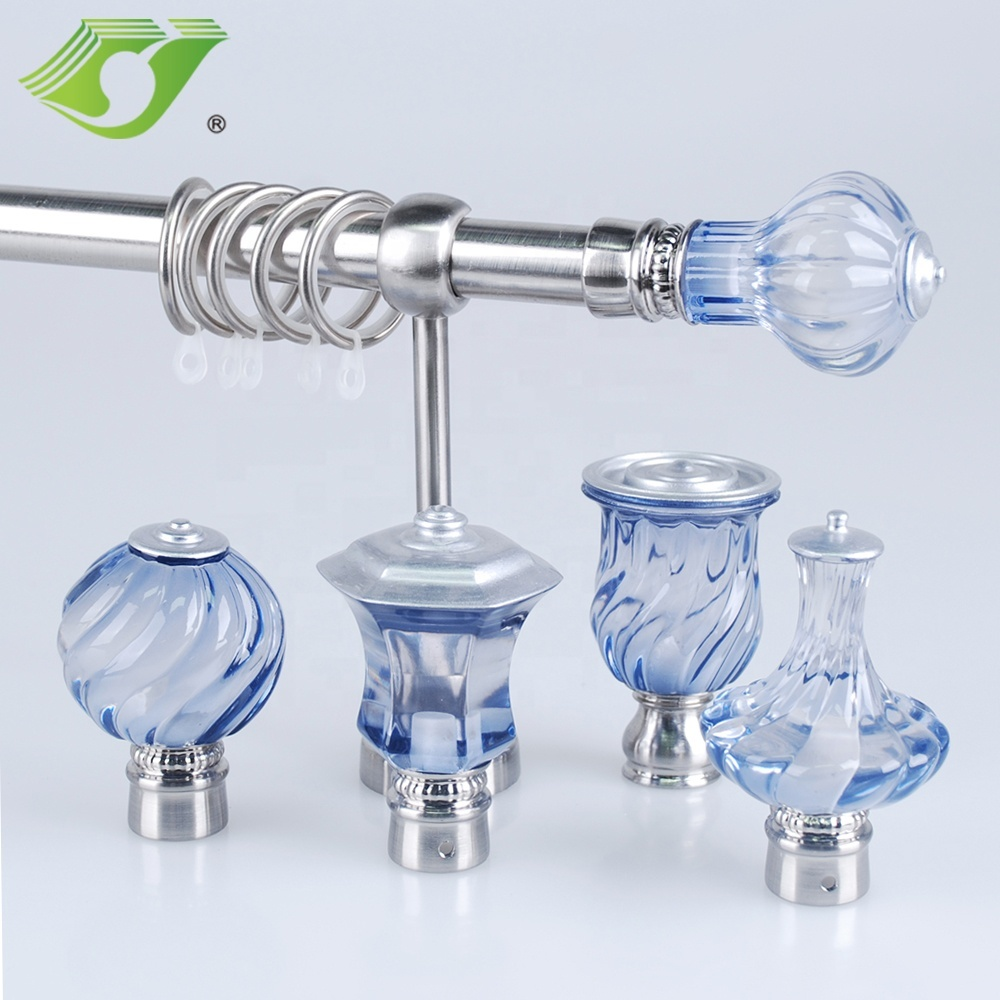 Stardeco Wholesale Home decorative crystal curtain rods