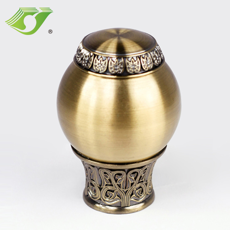 High quality curtain accessories 28mm curtain rods ball finial