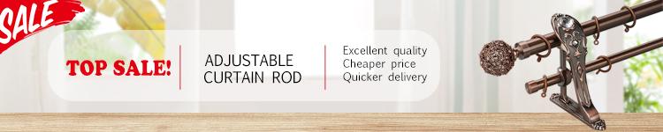 Stardeco custom 28mm metal curtain rods for windows