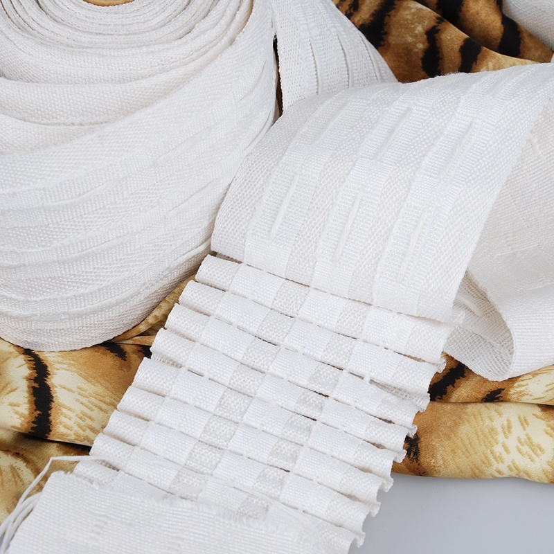 Curtain accessories decorative pencil pleat curtain tape