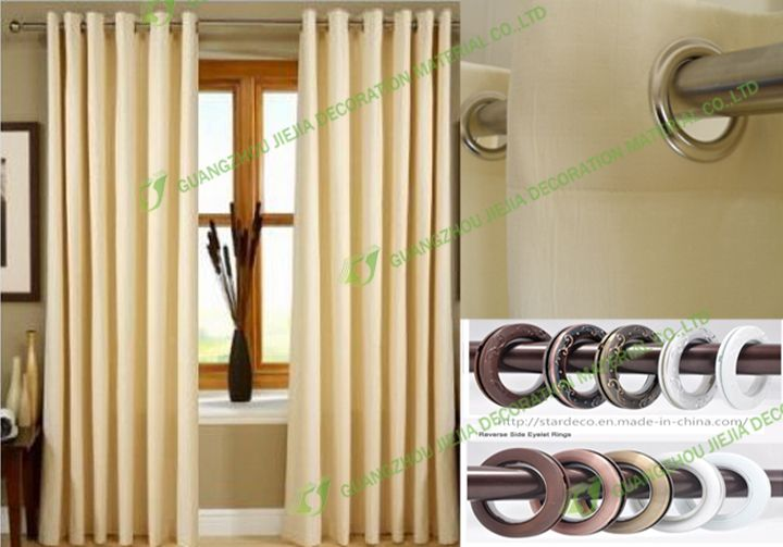 ZT-0024 wholesale curtain rod accessories factory / curtain tape with eyelet