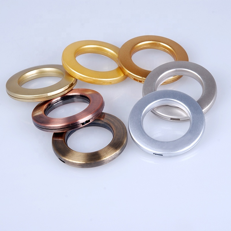 STARDECO colorful wear durable plastic curtain ring eyelet