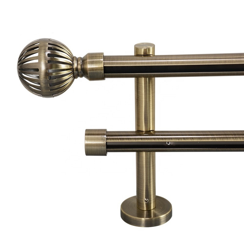 16/19mm Round aluminum profile wholesale curtain track sets