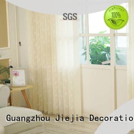 Jiejia kitchen vertical blinds