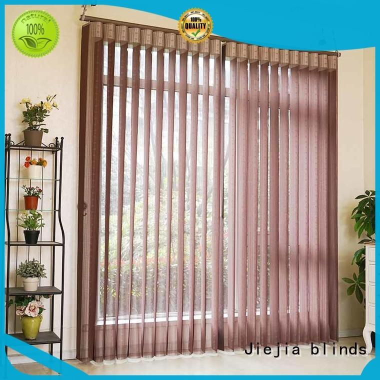 Jiejia Wholesale vertical window shades and blinds company