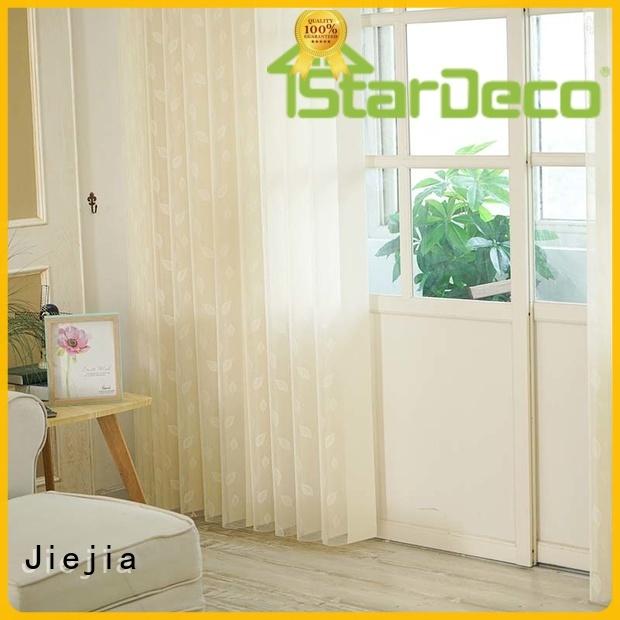 Jiejia sliding vertical blinds