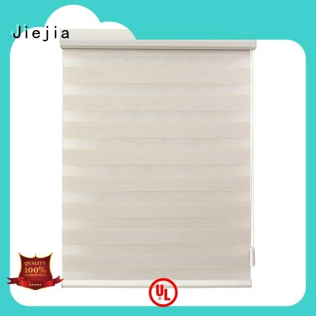 Jiejia odm zebra window blinds double Layer office