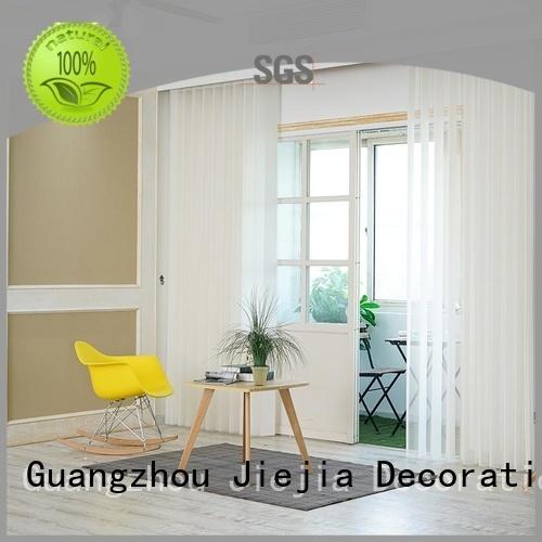 Jiejia vertical patio blinds
