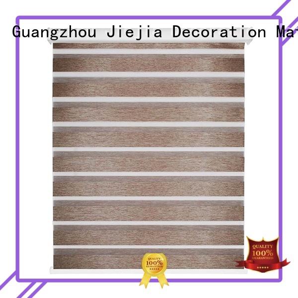Jiejia european style blackout zebra blinds sunscreen house