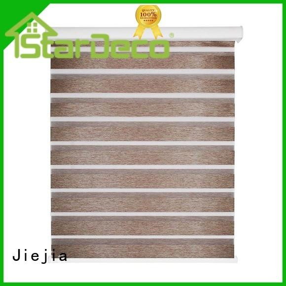 Jiejia double-layer blackout zebra blinds sunscreen restaurant