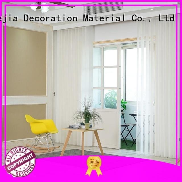 Jiejia High-quality pattern vertical blinds company