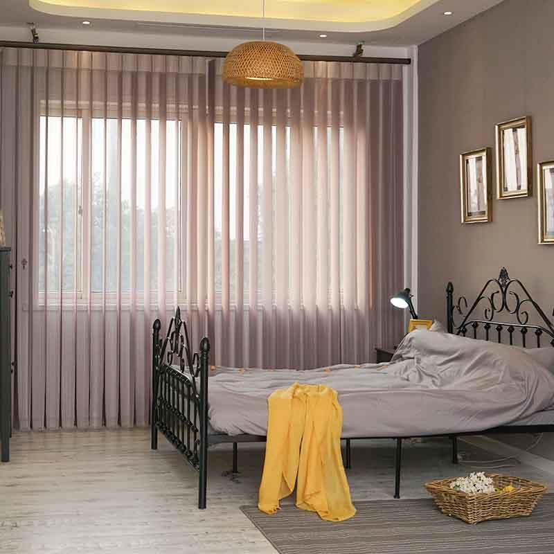 Wholesale Window Treatment Standard Vertical Blinds For Bedroom-3