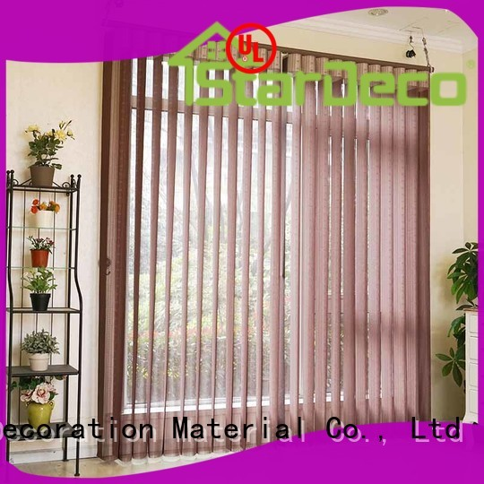 Custom Color Sunshade Kitchen Vertical Blinds