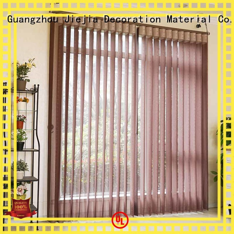 Jiejia vertical window blinds