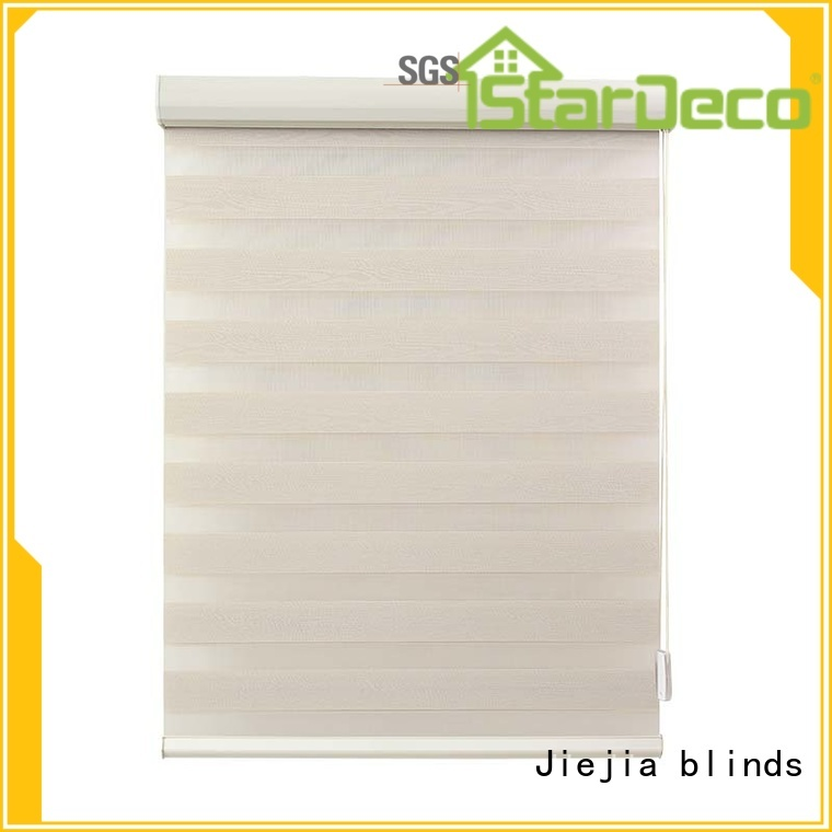 Jiejia zebra shade blinds double Layer room