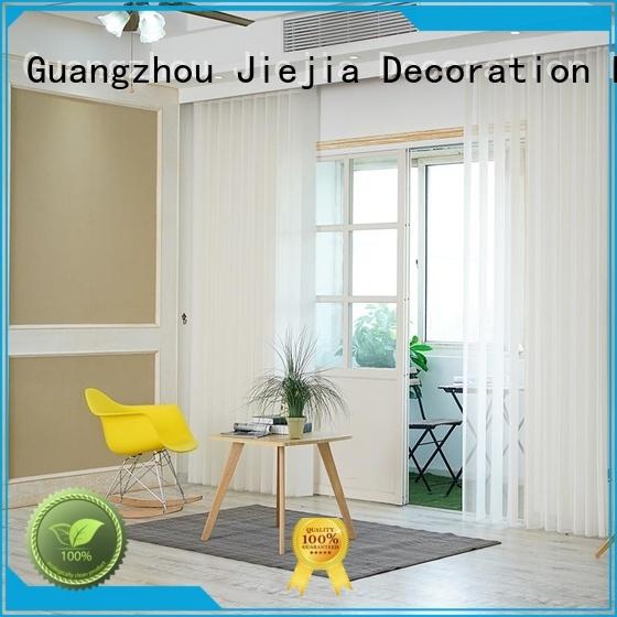 Jiejia 108 inch vertical blinds factory