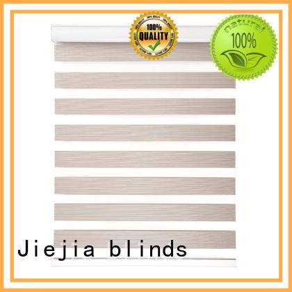 Jiejia Custom inexpensive blackout blinds flameproof restaurant