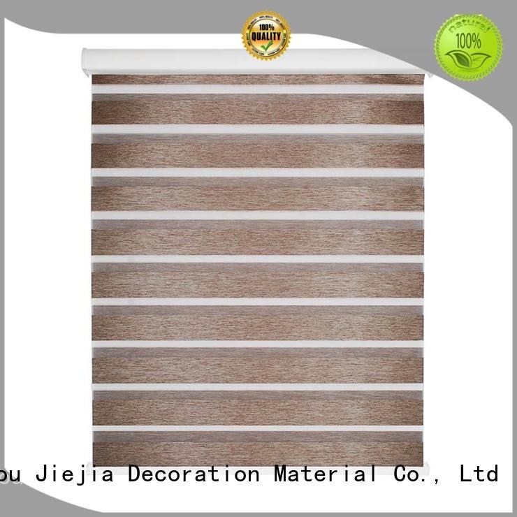 Jiejia blackout blinds home depot for business restaurant