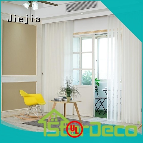 Jiejia vertical window shutters