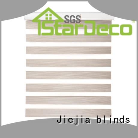 european style blackout zebra blinds flameproof house