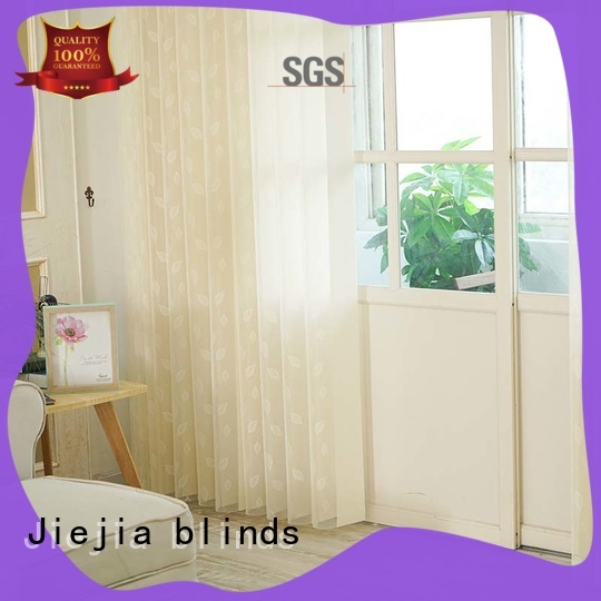 Jiejia room darkening vertical blinds