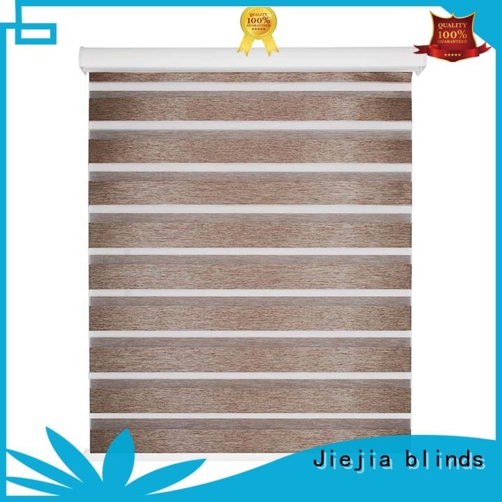 Jiejia european style zebra window shades sunscreen house