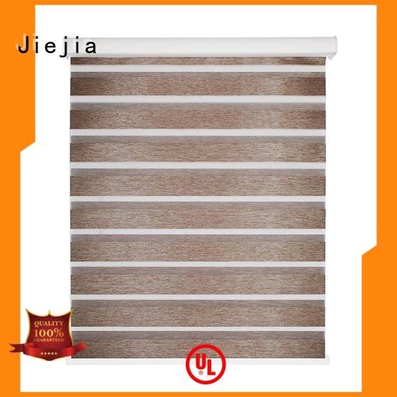 Jiejia Custom zebra window panels Suppliers restaurant