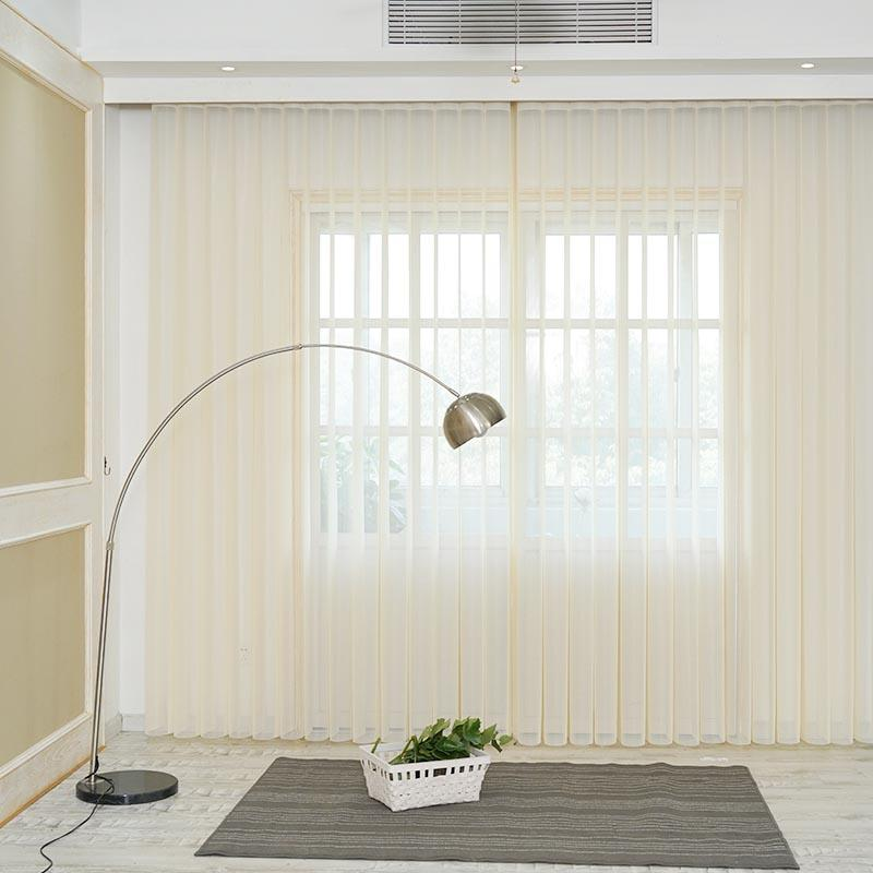 Wholesale Home Decor Soft Fabric Vertical Shades-1