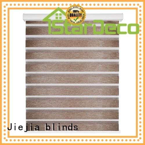 Jiejia Wholesale zebra curtain blinds sunscreen restaurant