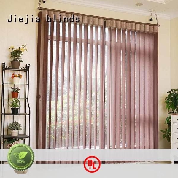 Jiejia standard vertical blinds Supply