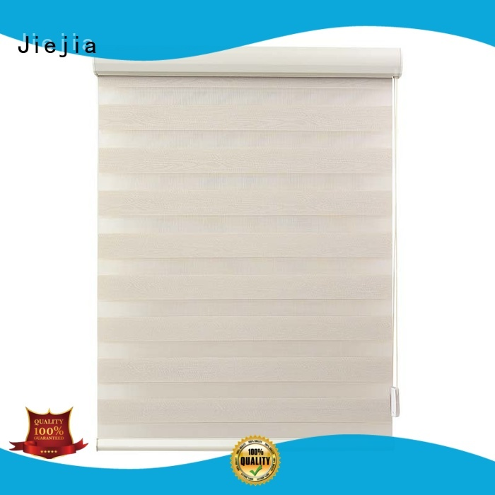 Jiejia wholesale zebra shade blinds double Layer room