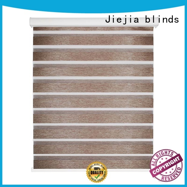 Jiejia double-layer zebra blackout blinds anti-uv restaurant