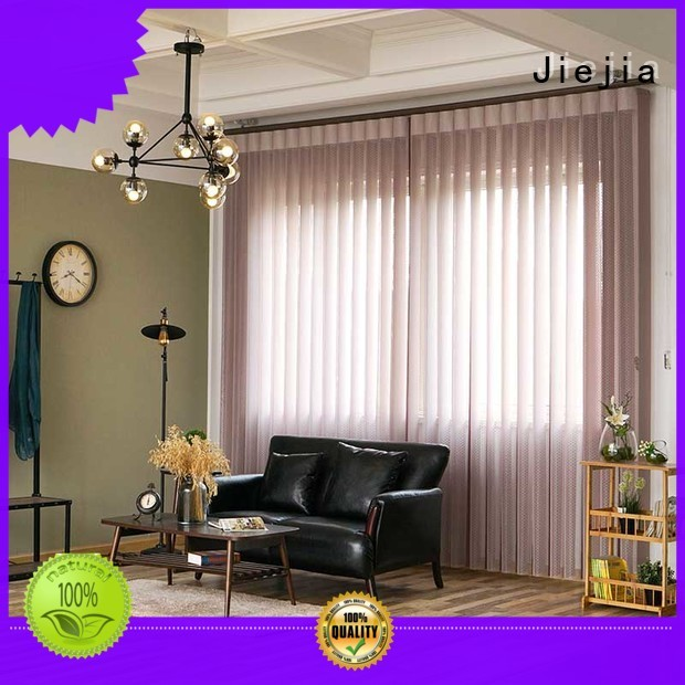 Low Noise Electric Best Vertical Blinds For French Window
