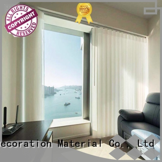 Jiejia vertical blinds for bay windows