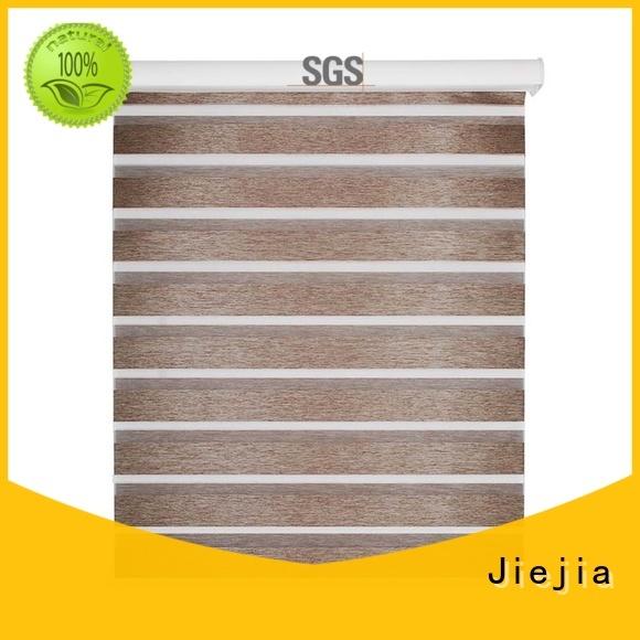 Jiejia double-layer zebra blinds wholesale flameproof house