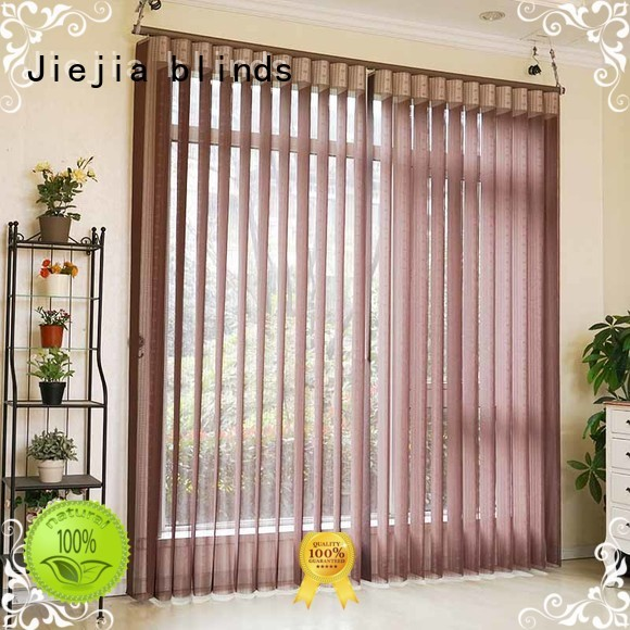Jiejia Custom room darkening vertical blinds manufacturers