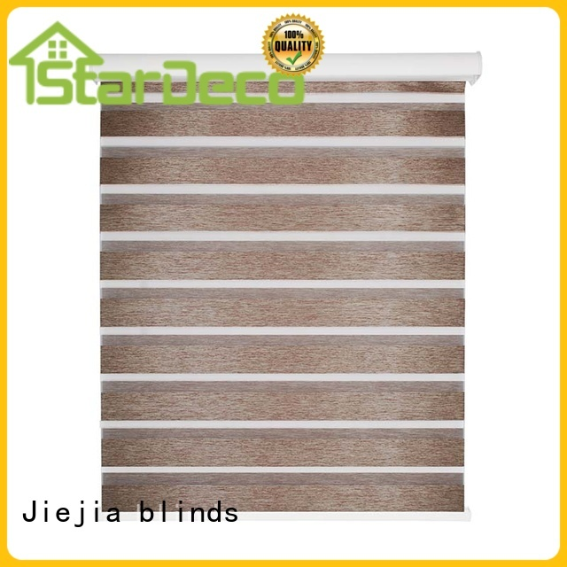 Jiejia double-layer zebra blinds wholesale sunscreen restaurant